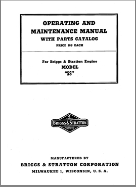 Briggs and Stratton manual - Find a repair manual for ...