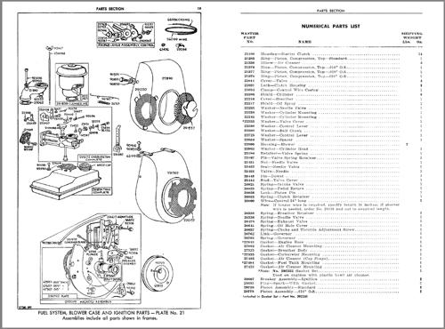 snowmobile engine parts