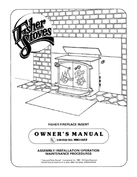 Timberline Wood Stove Manual Download