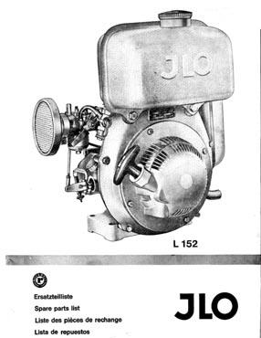 Jlo L152 2 Cycle Engine Parts Manual