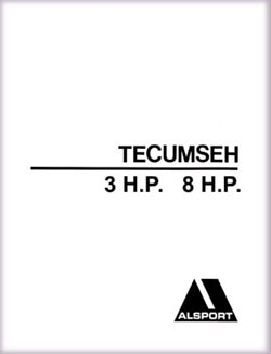 Alsport Tri Sport Tecumseh 3 - 8 HP engine Dealer Parts Manual