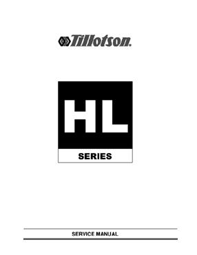 tillotson hl series carburetor service manual rh rt21trading com Tillotson Carburetor Application Chart Tillotson Carburetor Parts Diagram
