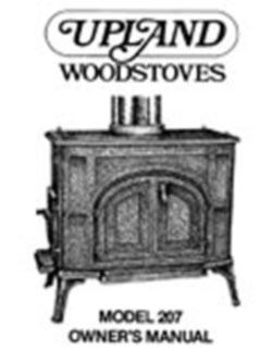 Upland 207 Airtight Wood Stove Manual W Parts List